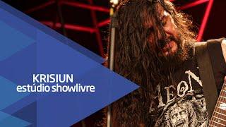 """Slaying steel"" -  Krisiun no Estúdio Showlivre 2015"