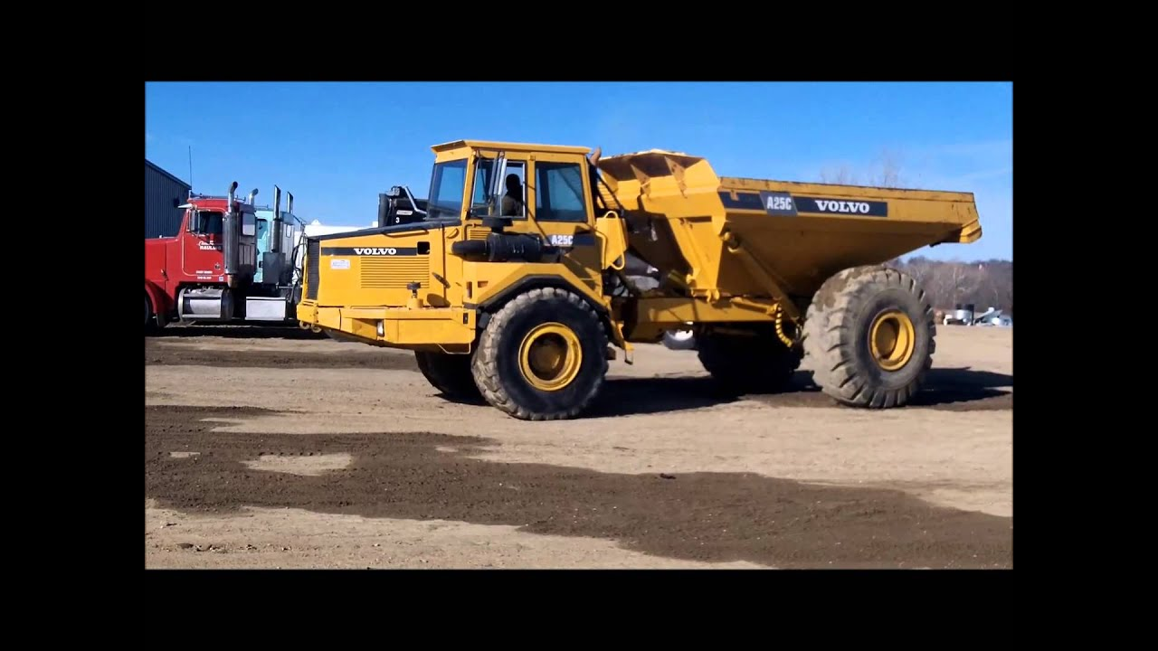 1994 Volvo A25C articulated haul truck for sale | sold at auction ...