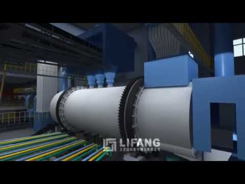 3D CGI Simulation of Industrial Processing of Lead Bullion from Recycled materials Visualization