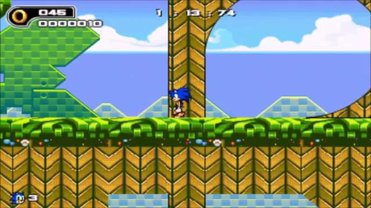 Sonic the Hedgehog Online   Walkthrough   All Levels   YouTube