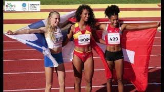 EYOF 2017   U17 women   triple jump - FINAL   #slowmo 250fps