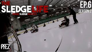 The Sledge Life - New Players Getting Schooled! Ep.6 (GoPro Hockey)