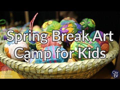 Columbia Close-Up: Spring Break Art Camp for Kids