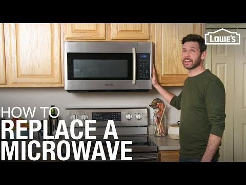 How To Replace A Microwave You