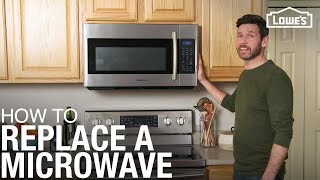How To Replace a Microwave