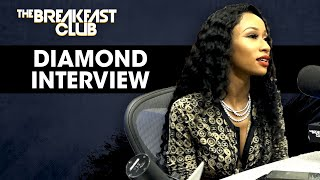 Diamond Talks Complicated Relationships, New Show, Crime Mob Split + More