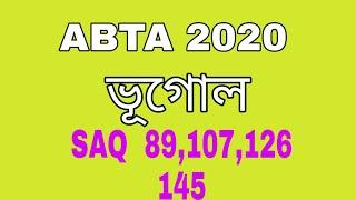 Download ABTA GEOGRAPHY sAQ