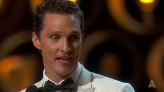 Matthew McConaughey winning Best Actor thumbnail