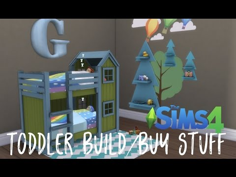 Sims 4 Custom Content Creator Showcase: Build/Buy Mode Toddler CC!