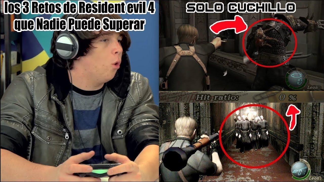Los 3 Retos y Desafios Mas Dificiles de Resident Evil 4 que Nadie Puede Superar