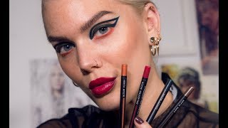 Graphic Liner And Swatches With The New Fusion Kit From Linda Hallberg Cosmetics| Linda Hallberg