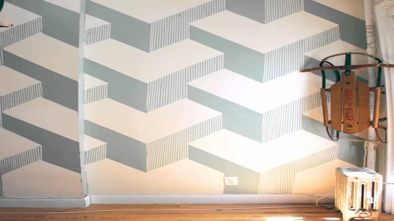 ديكورات جدران ثلاثية الابعاد Youtube