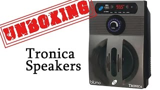 Tronica Bluno Speakers - Unboxing and Review
