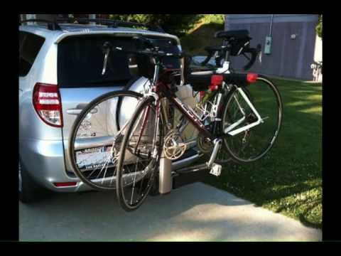 Yakima Swingdaddy 4 Bike Hitch Mount Rack 2 Inch Receiver