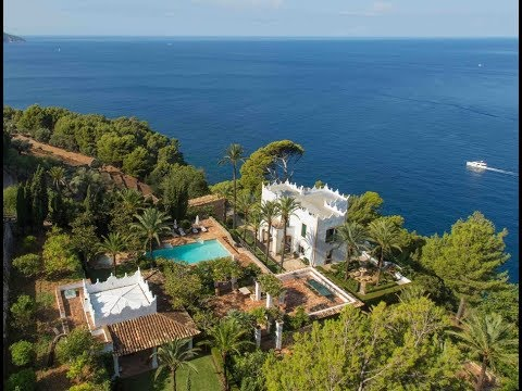 MICHAEL DOUGLAS'S MAJESTIC MALLORCAN MANSION