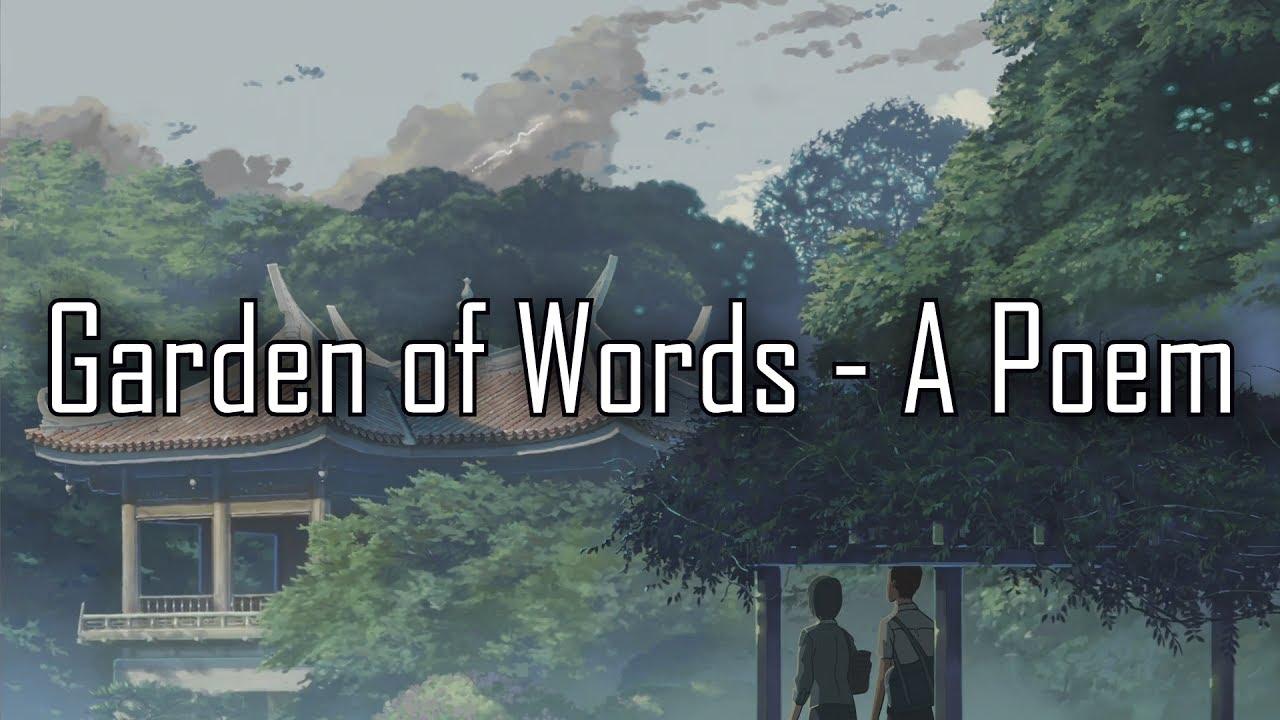 The Garden Of Words A Collection Of Tankas