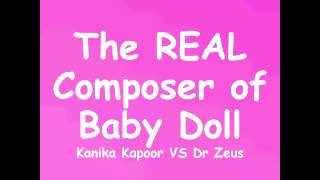 "Gambar cover KANIKA KAPOOR VS DR ZEUS (Interview) ""Meet Bros Anjjan composed BABY DOLL"""