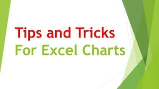 Tips and Tricks — Charts in Excel for Professionals