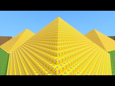 minecraft---piramide-lucky-block!-mini-game-pvp!