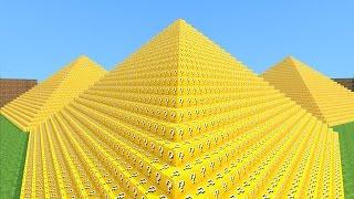 Minecraft - PIRAMIDE LUCKY BLOCK! MINI GAME PVP!