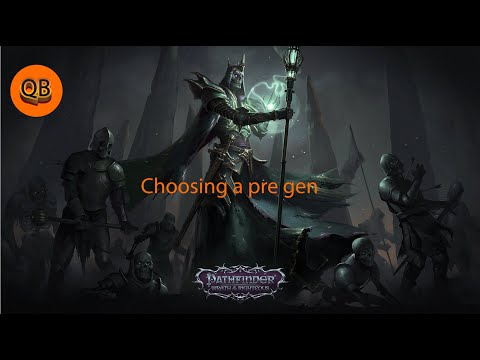 Pathfinder Wrath of the Righteous: Choosing a pre-made character. -  QuestBrothers |