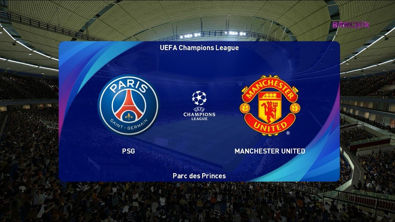 Psg Vs Manchester United Uefa Champions League 2020 Gameplay Youtube