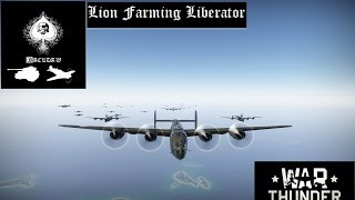 Farming lions with the B-24 Liberator at Iwo Jima - War Thunder