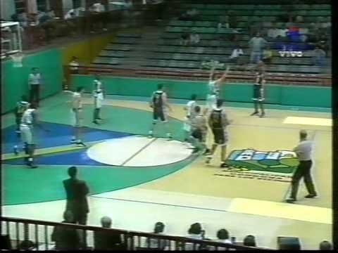1998 Liga Sudamericana Atenas vs Universidad de concepción (1er y 2do cuarto)