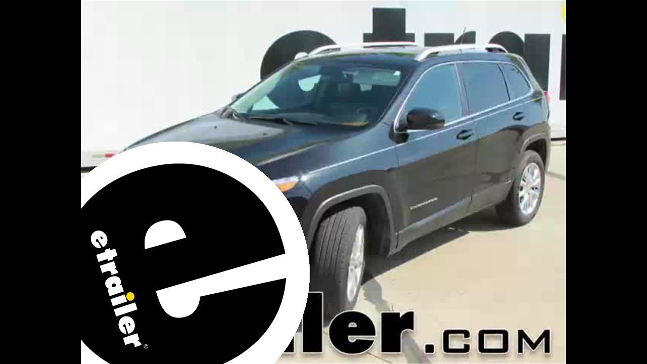 Floor mats jeep cherokee 2015 - Review Of The Weathertech 2nd Row Rear Floor Mat On A 2015 Jeep Cherokee Etrailer Com