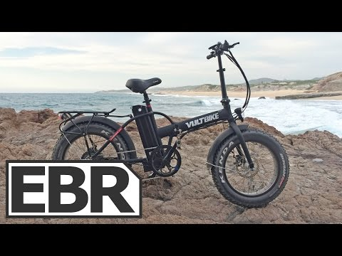 VoltBike Mariner Video Review - Mini Folding Fat Bike with 5