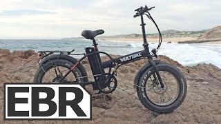 VoltBike Mariner Video Review - Mini Folding Fat Bike with 500 Watt Motor