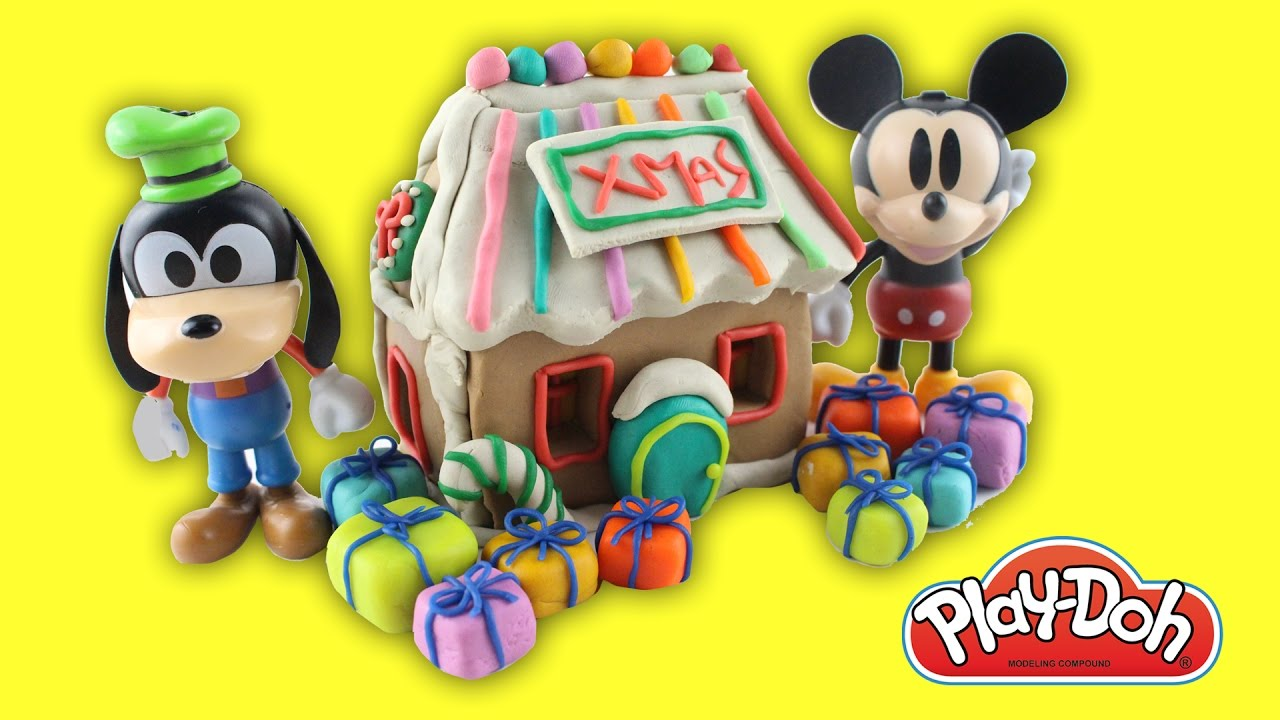 diy shopkins rainbow candy christmas cookie house kit mickey mouse clubhouse christmas tree play doh
