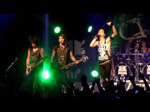 Black Veil Brides - Rebel Yell (Billy Idol cover) [HD] live