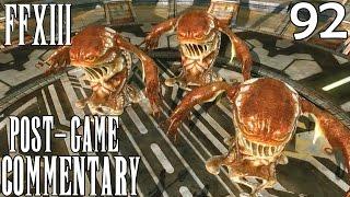 Final Fantasy XIII PC Walkthrough Part 92 - Gelatitan Trio (Mission 58,59,60)