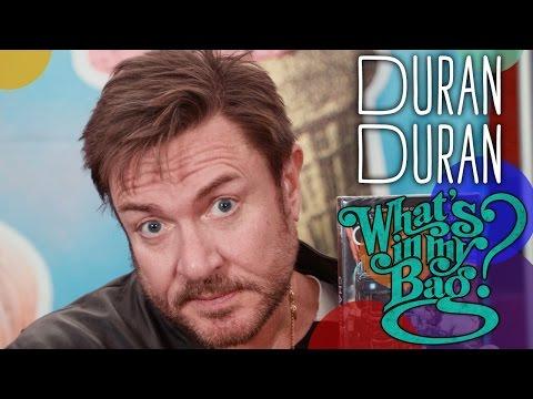 Duran Duran  Whats In My Bag?