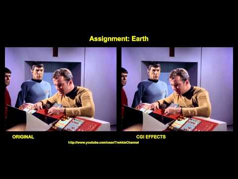 Thumbnail: Star Trek - Assignment Earth - visual effects comparison