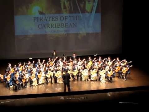 Glissando 2011 - Irish Folk Medley & Pirates of the Caribbean (ACGE)