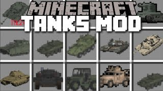 Minecraft TANKS MOD / FIGHT AND SURVIVE THE EVIL VILLAGERS!! Minecraft