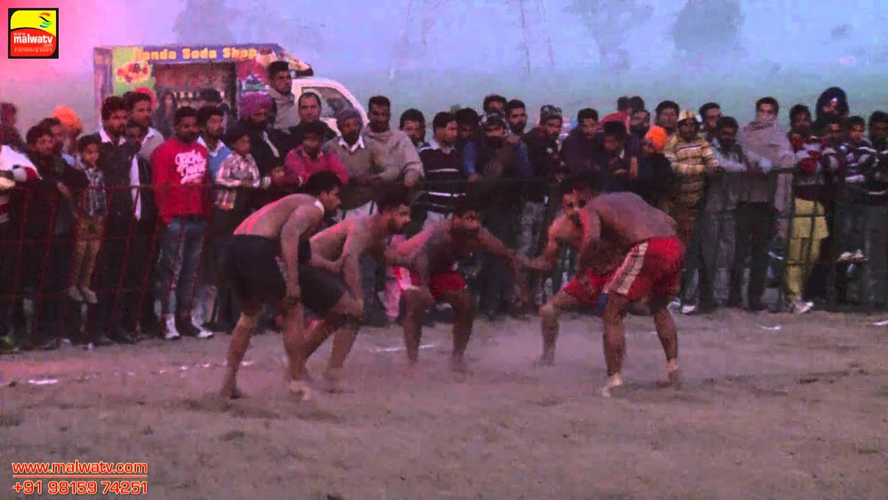 KAILE (Dharamkot) || OPEN KABADDI TOURNAMENT - 2015 || Part 4th.