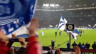 Nordkurve Gelsenkirchen gegen Bayern 2015