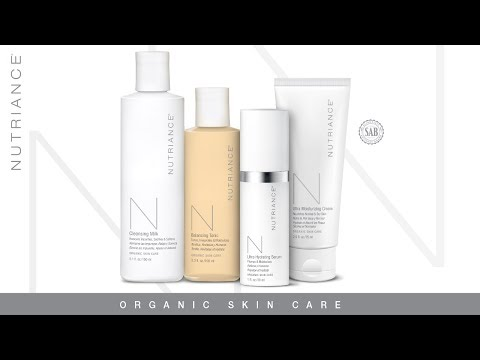 Introducing Nutriance Organic Skin Care