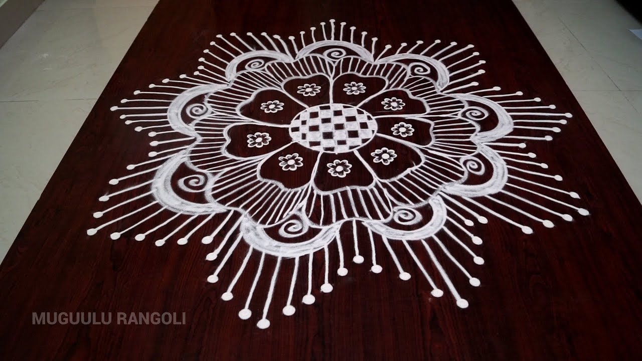 Easy Rangoli Designs Easy Rangoli Kolam Easy Kolam Designs Easy