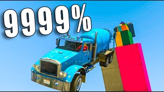 MEGA RAMPA 9999%IMPOSIBLE GTA V ONLINE - GTA 5 ONLINE