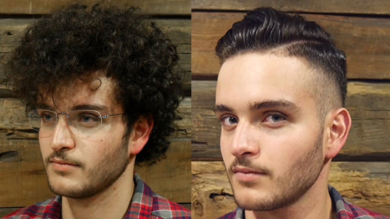Extreme makeover transformation for men hair & hairstyles with beard ...