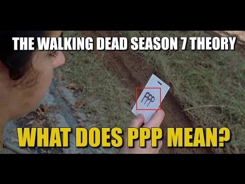The Walking Dead Season 7 Theories Where Did Heath Go? What Does PPP Mean?