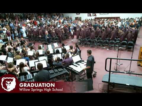 Willow Springs High School 2019 Graduation