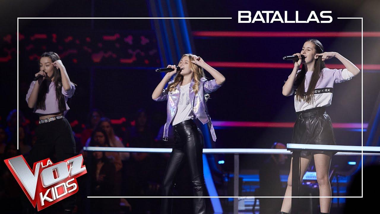 Georgia, Lucía y Patricia cantan 'Can't stop the feeling' | Batallas | La Voz Kids Antena 3 2021