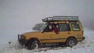 Nieve en el alto del Caracol