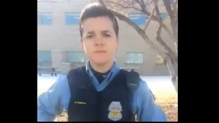 Harassed By MPD For Walking Down Franklin