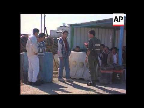 Gaza/Israel - Palestinian workers